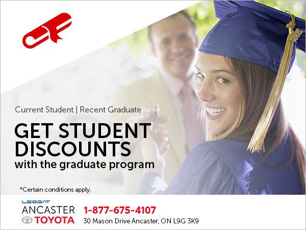 Take Advantage of Our Student Discounts!