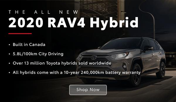 Hybrid RAV4 tablet